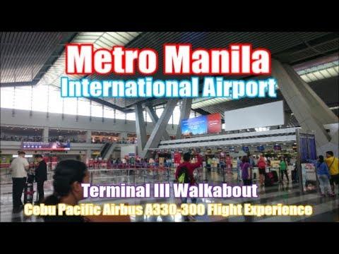 Metro Manila Airport - Terminal 3 Walkabout & Cebu Pacific Experience
