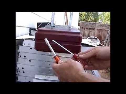 genie screw drive repair capacitor replacement