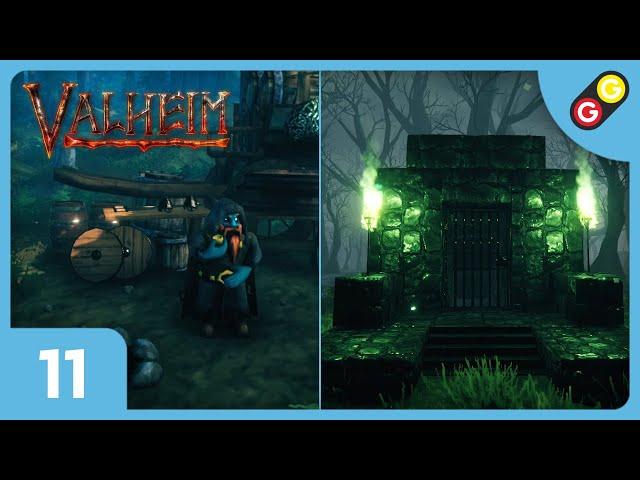 Valheim #11 Marchand, crypte et Draugr ! [FR]