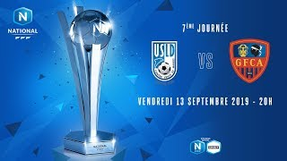7e journée : Dunkerque - Ajaccio I National FFF 2019-2020