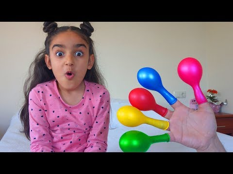 Finding Colors With Cute Balloons