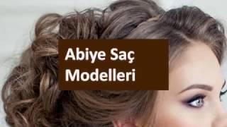 Abiye Saç Modelleri