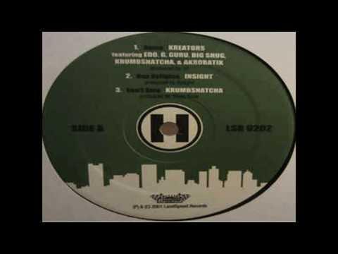(192) Kreators feat Akrobatik, Big Shug, Edo G, Guru, Krumbsnatcha - HOME (2001)