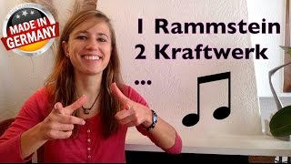 LEARN GERMAN WITH ♫ MUSIC ♫ - 5 German Artists you MUST know! (Part 2)