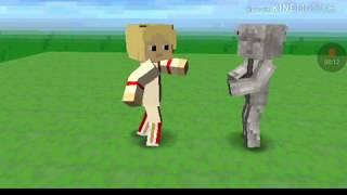 Minecraft doctor who season 5 Cyberman and weeping angel