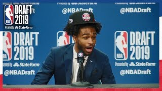 Coby White is HYPE After Cameron Johnson is Drafted!   2019 NBA Draft