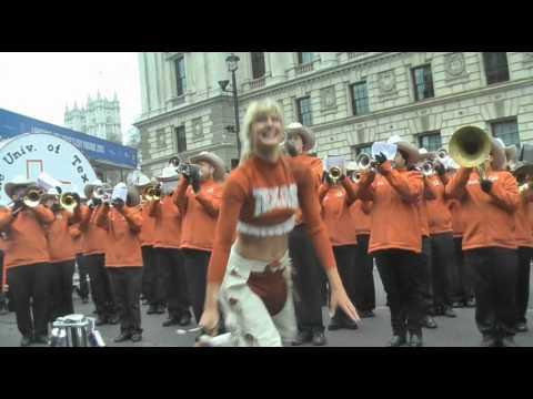 University of Texas Alumni Marching Band @ London New Years Day Parade 2015