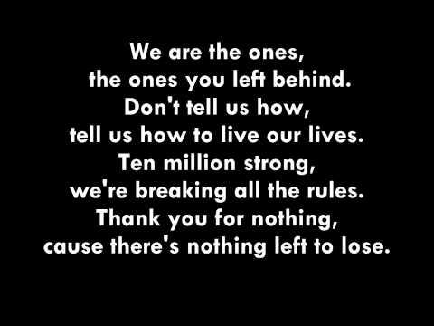 MKTO - Thank You (Lyrics)