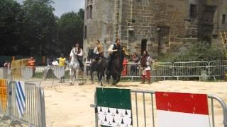 1ère partie d'une vidéo de tournois médiévale