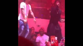 Lil Wayne Performs Live With Rae Sremmurd At LIV Nightclub In Miami