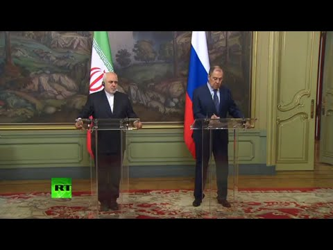 Lavrov and Zarif hold press conference after talks in Moscow