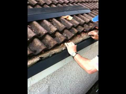 fitting underfelt support tray by guttermanie  YouTube