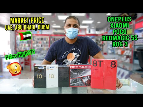 OnePlus Xiaomi Rog and RedMagic Price in UAE Abu Dhabi Dubai
