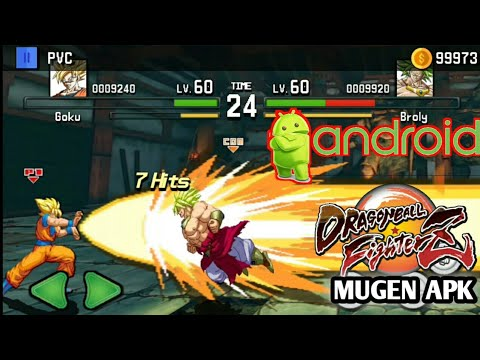 NEW GAME FOR ANDROID DBZ FIGHTER Z MUGEN GRAFICS APK DOWNLOAD  #Smartphone #Android