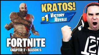 I WON WITH KRATOS! (Fortnite Chapter 2 - Season 5)
