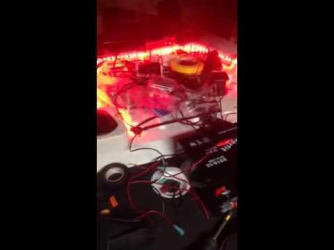 ascend fs128t kayak led lights youtube