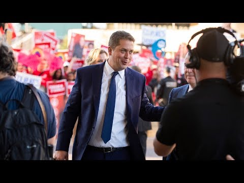 Andrew Scheer on the campaign trail | Day 34