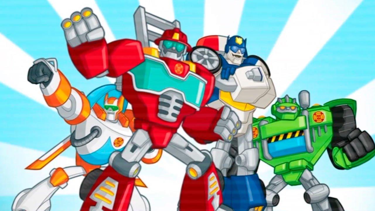 Tranformers Rescue Bots Rescate en la Ciudad - Divertidos Dibujos ...