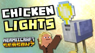 Chicken Lightbulbs! - Minecraft Hermitcraft Season 7