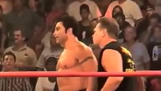 Marc Mero and  Russ Rollins Wrestling Match