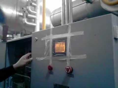operacion de compresores tornillo  yantai moon
