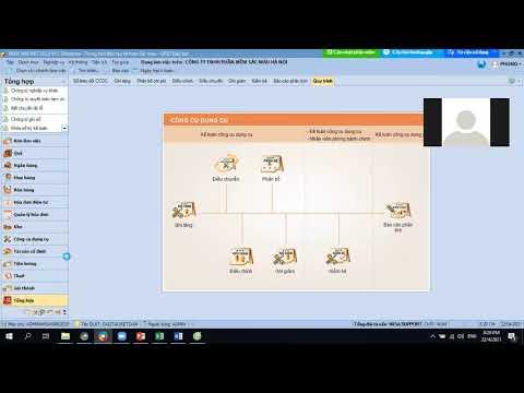 Sàn kế toán đào tạo Online qua Zoom sử dụng phần mềm kế toán Misa buổi 4