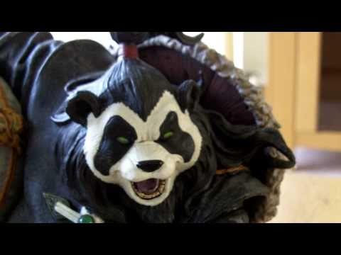 World of Warcraft figurine, Pandaren Brewmaster Chen Stormstout review