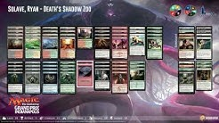 GPIndy Round 15: Ryan Solave (Death's Shadow Aggro) vs. Mike Sigrist (Affinity)