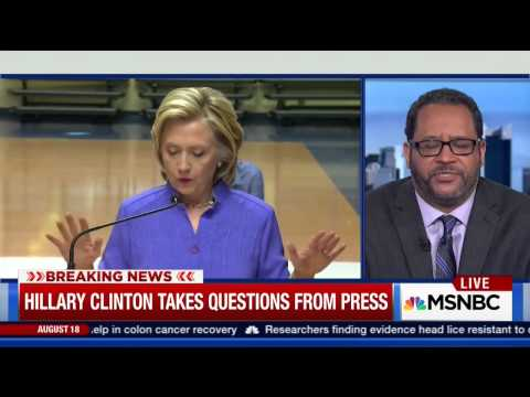 Angela Rye discusses Hillary Clinton's visit to Nevada w/ Michael Eric Dyson