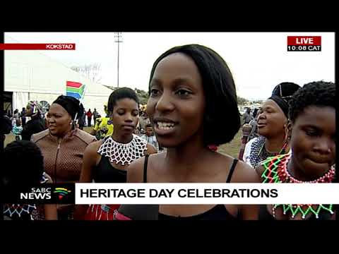 Heritage Day celebrations in Kokstad, KwaZulu-Natal