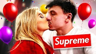 SURPRISING GIRLFRIEND for 21st BIRTHDAY with $5,000 of SUPREME