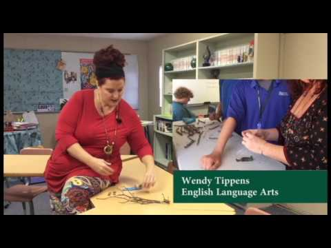 Wendy Tippens Teaches Language Arts at Bachman Academy
