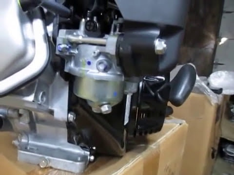 Carb main jet cleaning on Honda GX engines