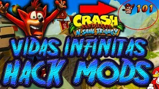 Hack Mods PS4 Crash Bandicoot N Sane Trilogy Vidas Infinitas / Infinite Life - By ReCoB