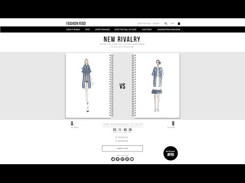 This is Fashion Feud - the new interactive way to discover & shop for fashion #FASHIONFEUD