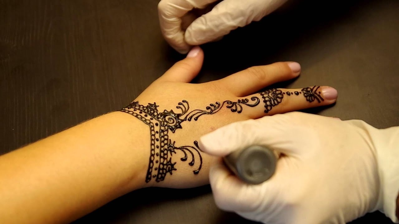 My Henna  Tattoo 2 YouTube