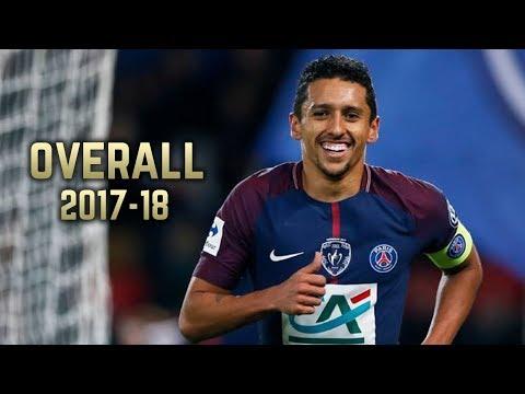 Marquinhos - Overall 2017-18 | Best Defensive Skills