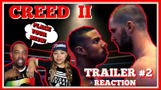 CREED II | Official Trailer 2 (REACTION!!!)