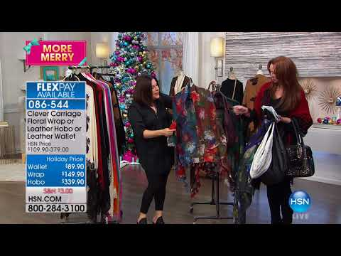 HSN | Clever Carriage Company Fashions & Accessories 10.18.2017 - 02 AM