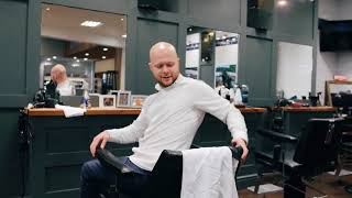 Gould Barbers launch a new service for its follically challenged customers