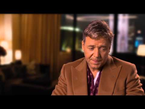 Broken City: Russell Crowe On Work With Catherine Zeta-Jones 2013 Movie Behind the Scenes