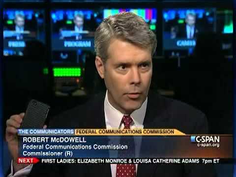 FCC Commissioner Robert McDowell
