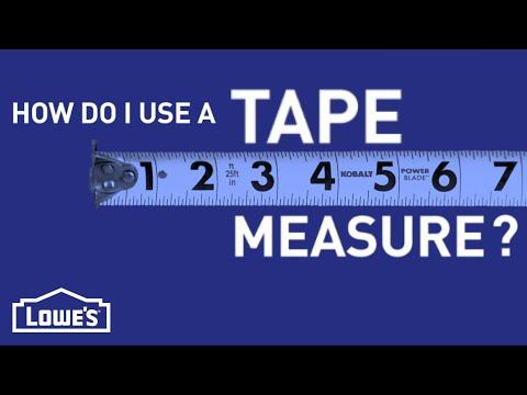 How Do I Use a Tape Measure? | DIY Basics