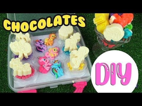 "My Little Pony Movie ""12 Days of MLP"" DIY Chocolate Candies Crafts for Christmas 