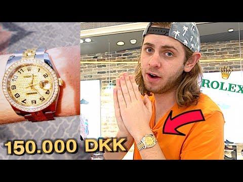 KØBER ROLEX TIL 150.000 DKK!