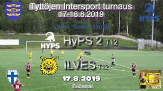 Tyttöjen Intersport-turnaus 2019 HyPS 2 T12 vs Ilves T12