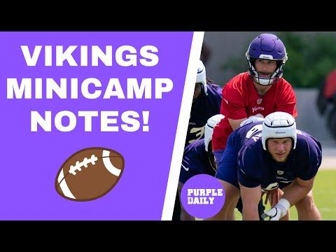 Minnesota Vikings minicamp summary: O-line, rookies and more
