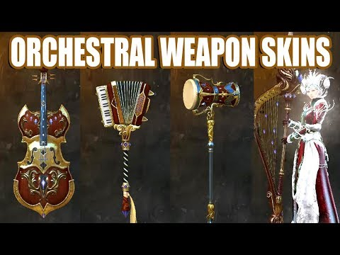 Orchestral Weapon Skins ● Guild Wars 2