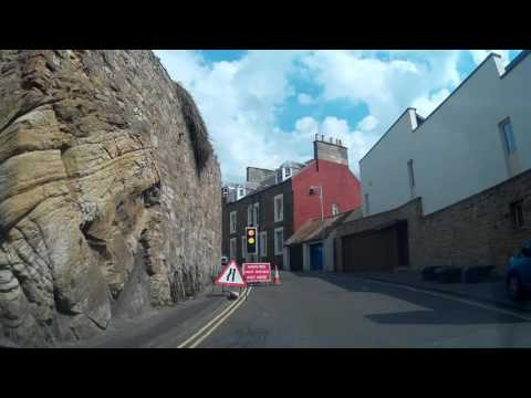 Drive From Elie To St Andrews Fife Scotland