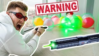 MOST POWERFUL LASER IN THE WORLD *Dangerous*